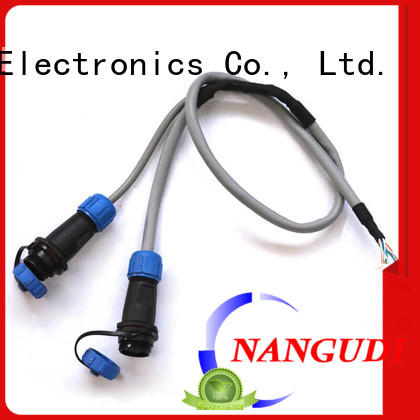 Nangudi Brand connector automobile waterproof custom cable assembly manufacturers