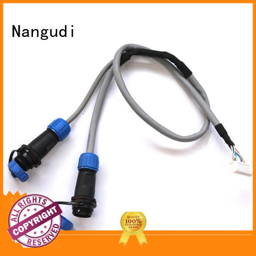 Nangudi ODM automotive wire harness assembly free sample copper terminal
