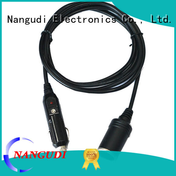 fuse dc power adapter cable open end for connector Nangudi
