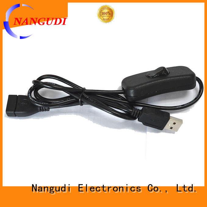 Nangudi Brand micro wire monitor white usb cord