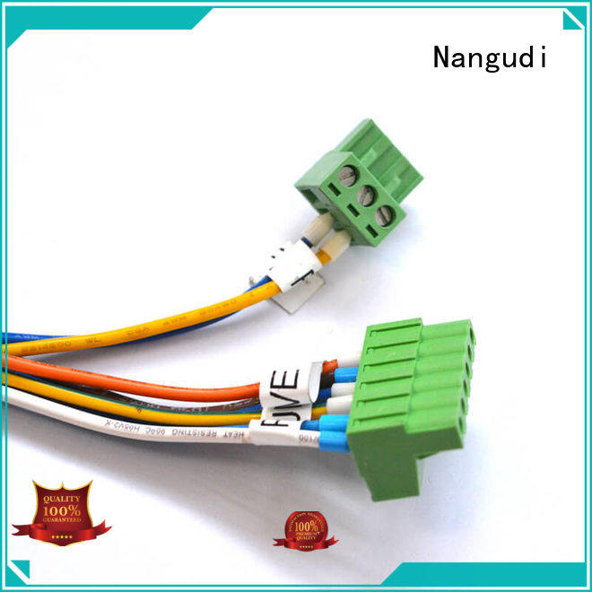 custom wiring harness circle housing connector Nangudi