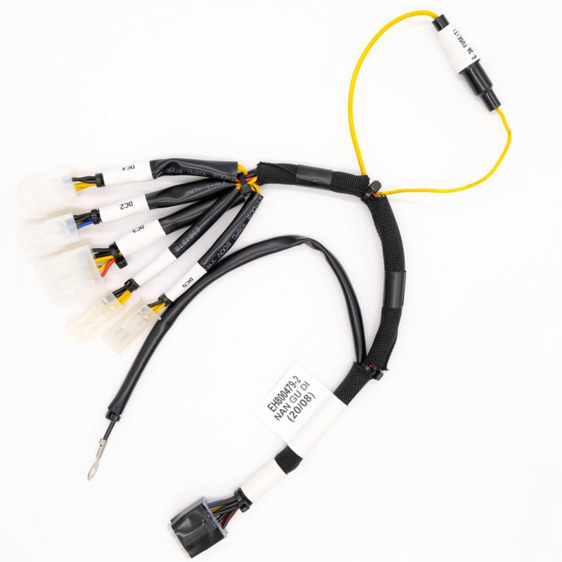 China Professional Custom make power supply 5*20mm fuse 5559 hosing to 5557 connector wire harness NGD034 Factory