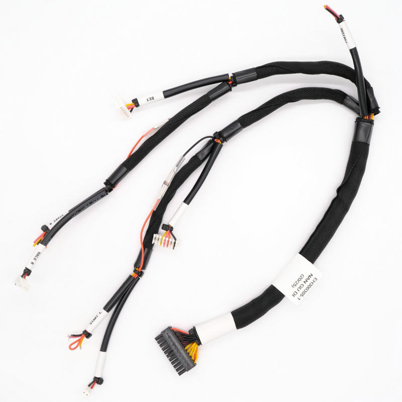 MX3.0mm 22 ways to pierced type connector machinery wire harness NGD-040